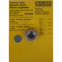 Bauer Suction Valve Kit 012836