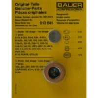 Bauer Suction Valve Kit 012841