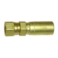 JIC Female Hose End. Brass