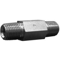 1/4 Male Hex Nipple, 2″ Long