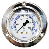 Flange Panel Gauge 7500PSI/BAR