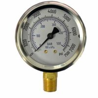Dry Gauge 7500 PSI/BAR