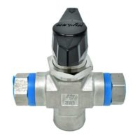 Ball Valve 6000 PSI Female 3 Position